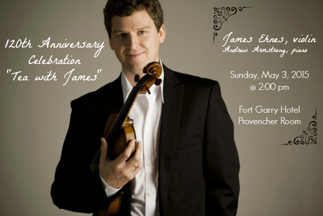 "120th Anniversary Celebration ""Tea with James"""
