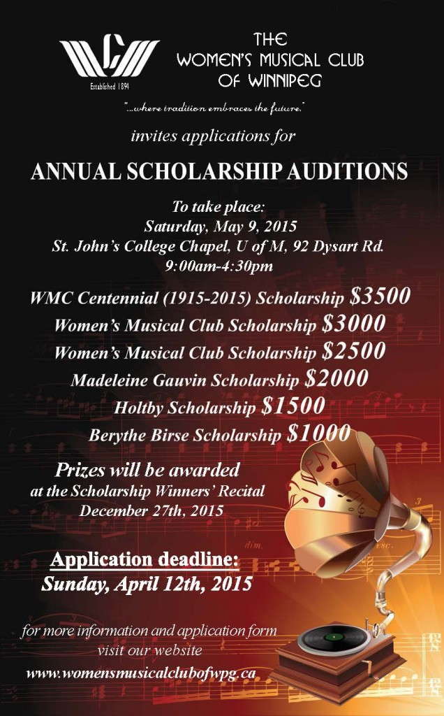 Scholarship 2015 Poster