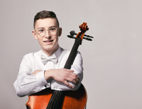 David Liam Roberts – cello– in Classic 107 studios – on 107 Live with Simeon Rusnak – December 27th 2018 at 4:30 pm