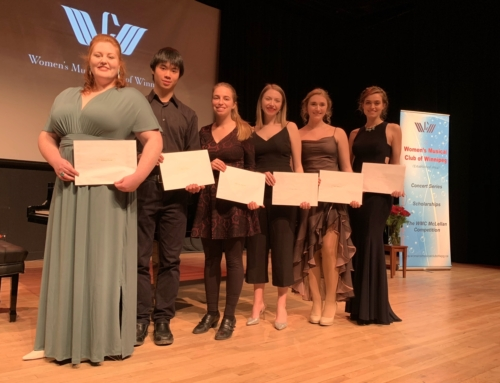 2019 WMC Scholarship Winners' Recital